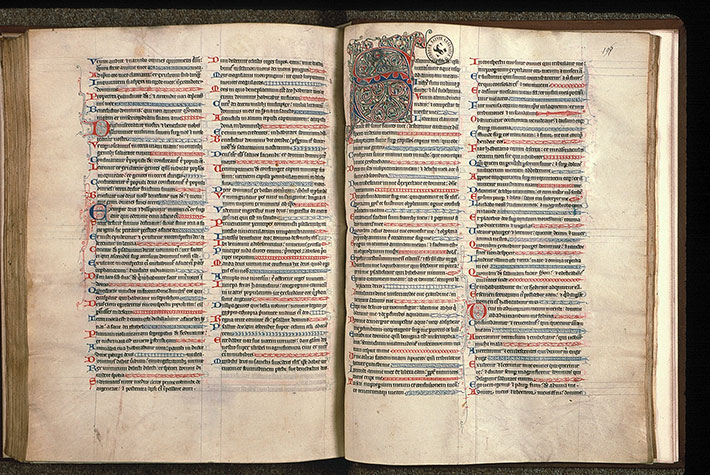 Paris, Bibl. Sainte-Geneviève, ms. 0011, f. 195v-196