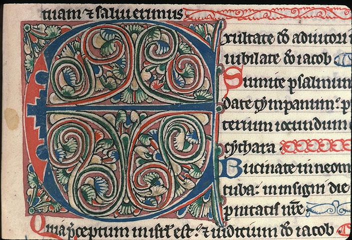 Paris, Bibl. Sainte-Geneviève, ms. 0011, f. 199