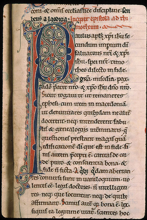 Paris, Bibl. Sainte-Geneviève, ms. 0012, f. 199