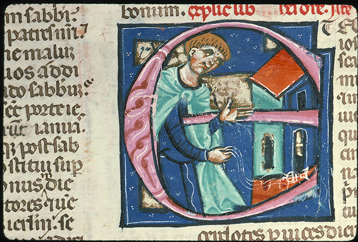Paris, Bibl. Sainte-Geneviève, ms. 0014, f. 194v