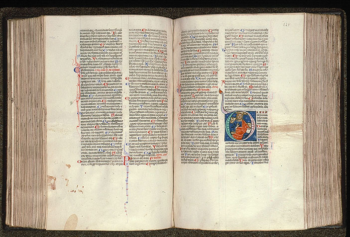 Paris, Bibl. Sainte-Geneviève, ms. 0014, f. 244v-245