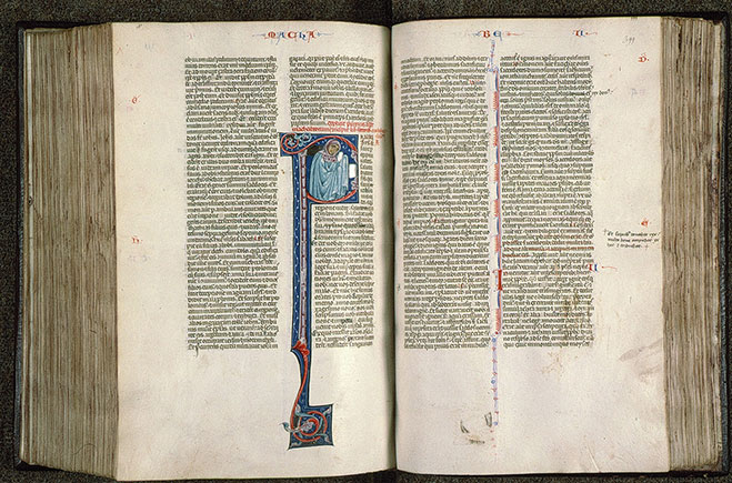 Paris, Bibl. Sainte-Geneviève, ms. 0014, f. 398v-399