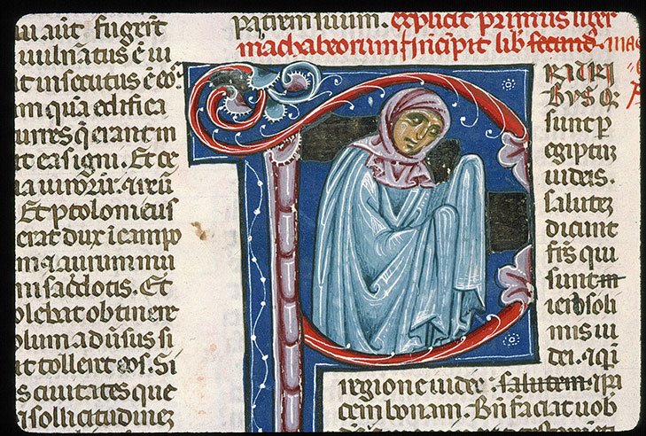 Paris, Bibl. Sainte-Geneviève, ms. 0014, f. 398v
