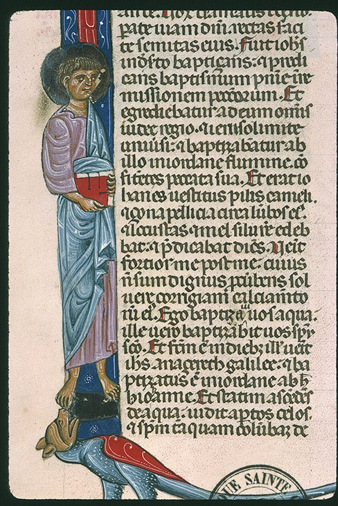 Paris, Bibl. Sainte-Geneviève, ms. 0014, f. 421v