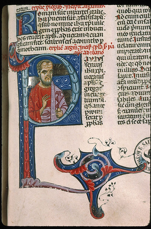 Paris, Bibl. Sainte-Geneviève, ms. 0014, f. 455