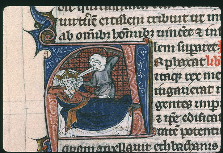 Paris, Bibl. Sainte-Geneviève, ms. 0015, f. 205v
