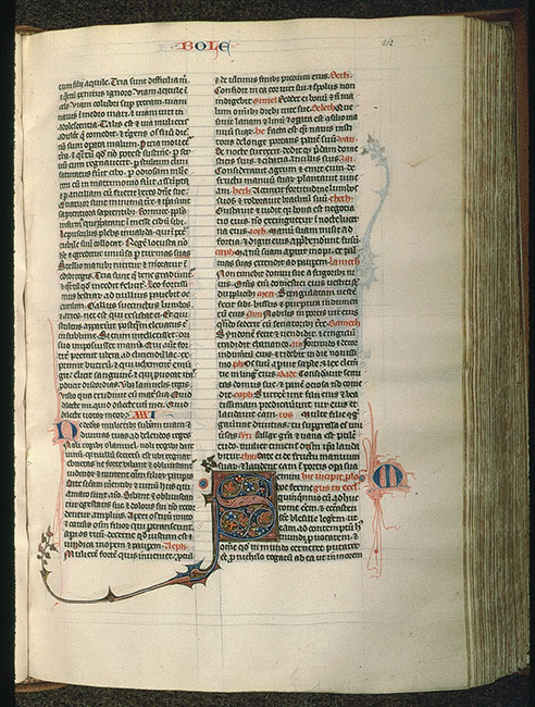 Paris, Bibl. Sainte-Geneviève, ms. 0015, f. 262