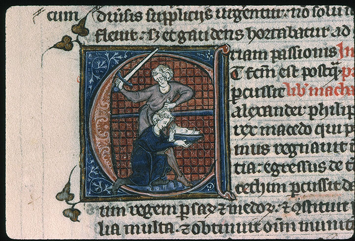 Paris, Bibl. Sainte-Geneviève, ms. 0015, f. 387v