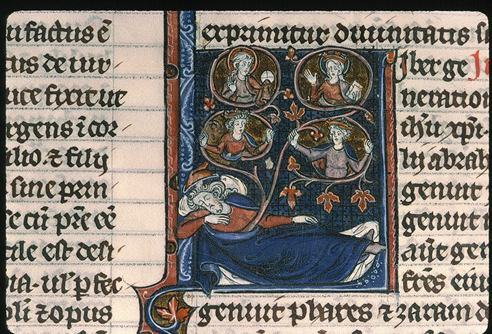 Paris, Bibl. Sainte-Geneviève, ms. 0015, f. 409v