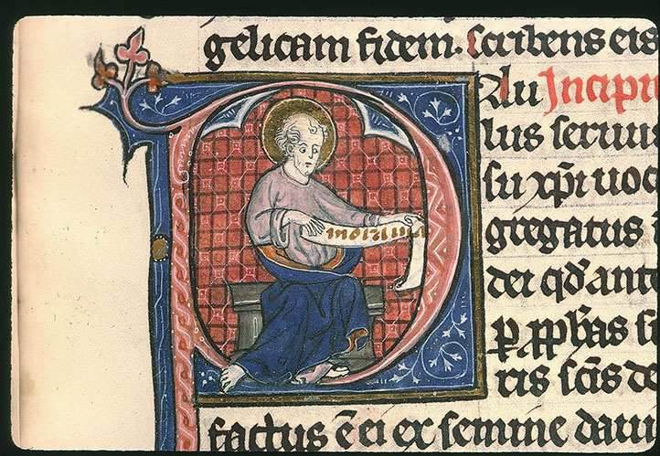 Paris, Bibl. Sainte-Geneviève, ms. 0015, f. 455