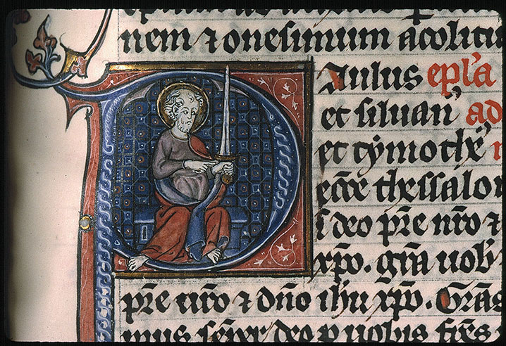 Paris, Bibl. Sainte-Geneviève, ms. 0015, f. 476