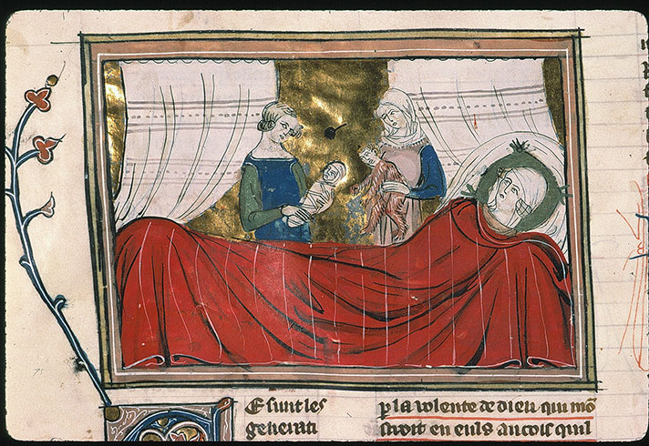 Paris, Bibl. Sainte-Geneviève, ms. 0020, f. 027v