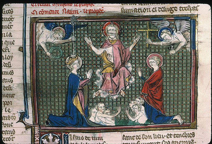 Paris, Bibl. Sainte-Geneviève, ms. 0021, f. 112