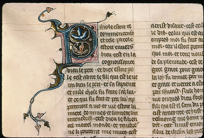 Paris, Bibl. Sainte-Geneviève, ms. 0021, f. 191v