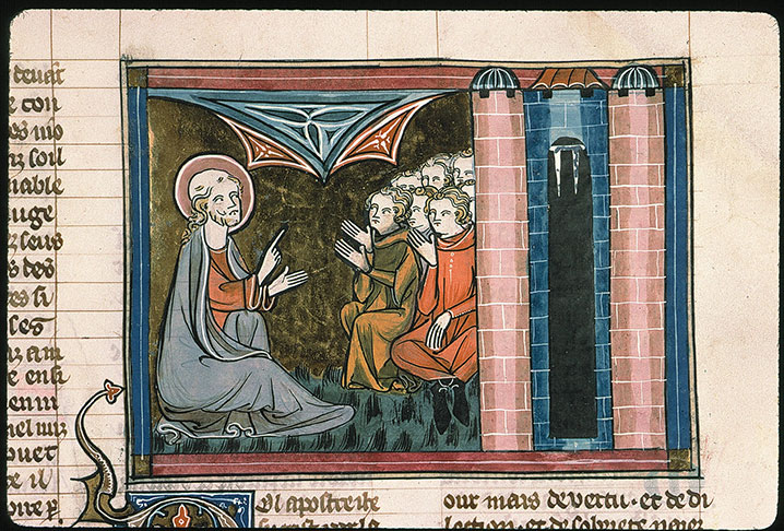 Paris, Bibl. Sainte-Geneviève, ms. 0021, f. 230