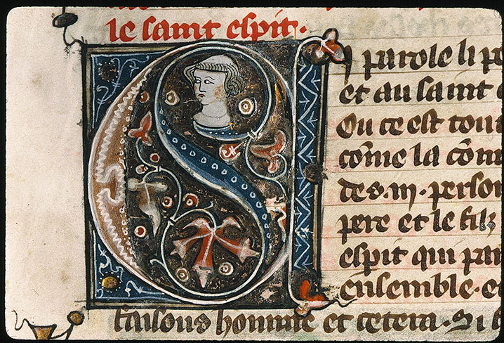 Paris, Bibl. Sainte-Geneviève, ms. 0022, f. 007