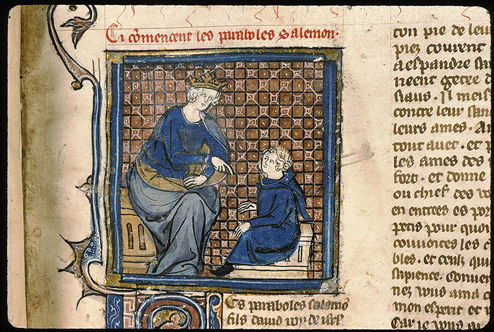 Paris, Bibl. Sainte-Geneviève, ms. 0022, f. 273