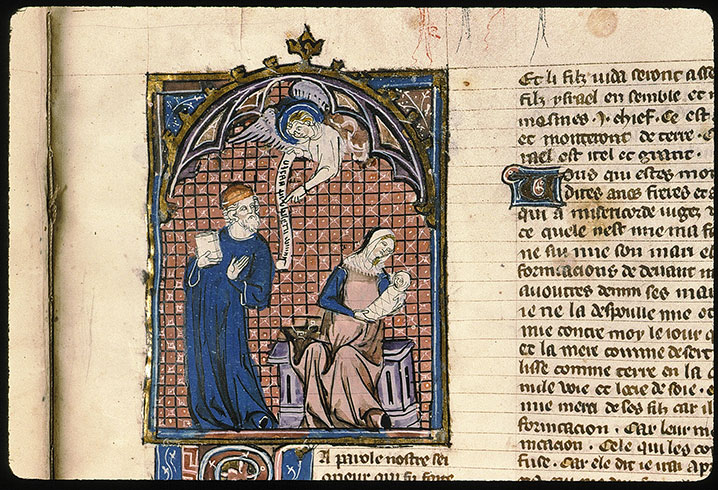 Paris, Bibl. Sainte-Geneviève, ms. 0022, f. 392