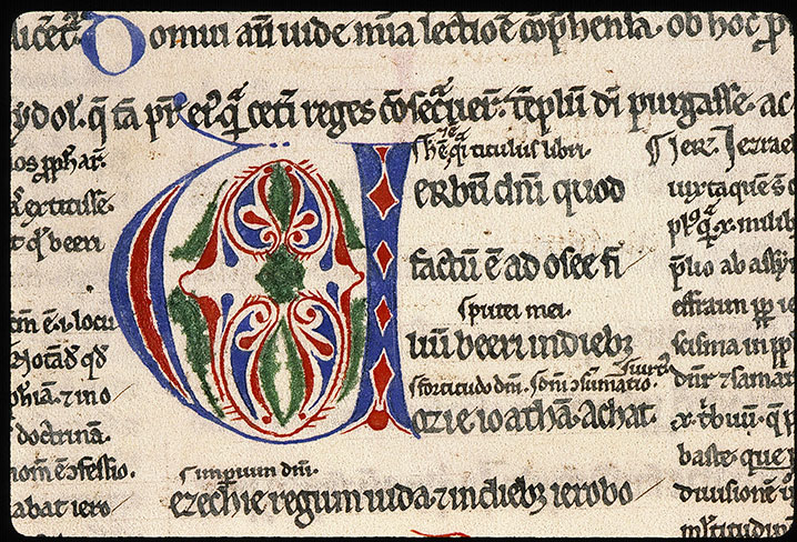 Paris, Bibl. Sainte-Geneviève, ms. 0031, f. 207v