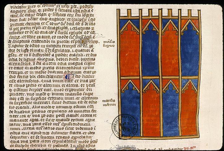 Paris, Bibl. Sainte-Geneviève, ms. 0034, f. 197v
