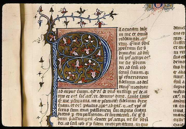 Paris, Bibl. Sainte-Geneviève, ms. 0034, f. 262