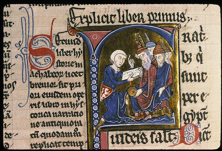 Paris, Bibl. Sainte-Geneviève, ms. 0046, f. 233v