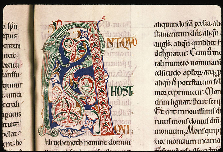 Paris, Bibl. Sainte-Geneviève, ms. 0053, f. 090