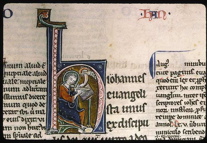 Paris, Bibl. Sainte-Geneviève, ms. 0072, f. 196