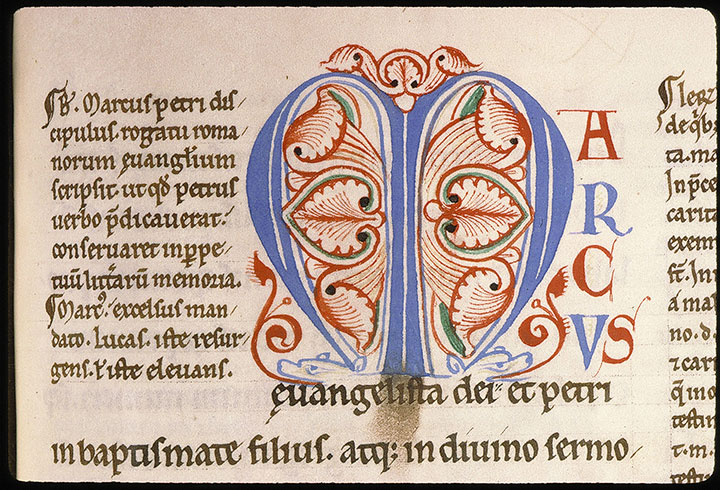Paris, Bibl. Sainte-Geneviève, ms. 0073, f. 091