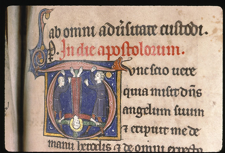 Paris, Bibl. Sainte-Geneviève, ms. 0090, f. 199