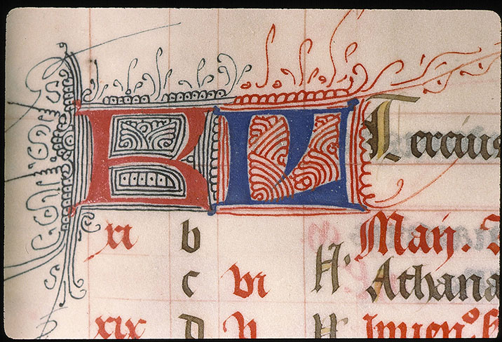 Paris, Bibl. Sainte-Geneviève, ms. 0091, f. 007