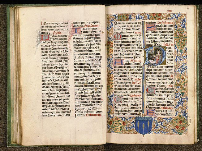 Paris, Bibl. Sainte-Geneviève, ms. 0091, f. 023v-024