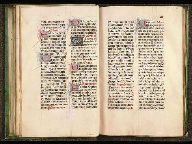 Paris, Bibl. Sainte-Geneviève, ms. 0091, f. 034v-035