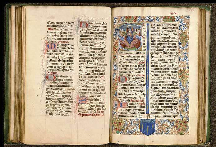 Paris, Bibl. Sainte-Geneviève, ms. 0091, f. 104v-105