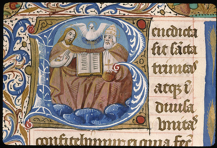 Paris, Bibl. Sainte-Geneviève, ms. 0091, f. 109v