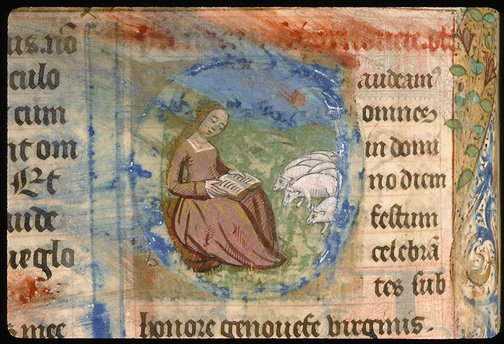 Paris, Bibl. Sainte-Geneviève, ms. 0091, f. 120v