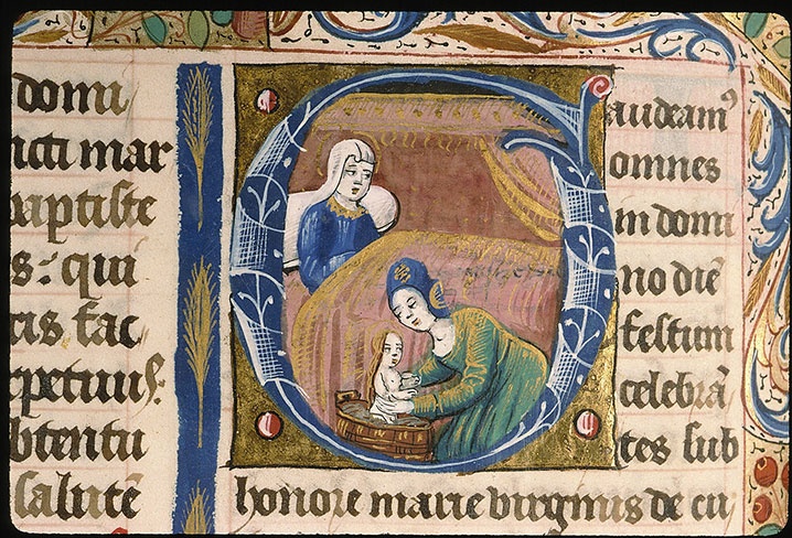 Paris, Bibl. Sainte-Geneviève, ms. 0091, f. 148v