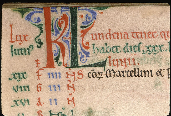 Paris, Bibl. Sainte-Geneviève, ms. 0096, f. 005v
