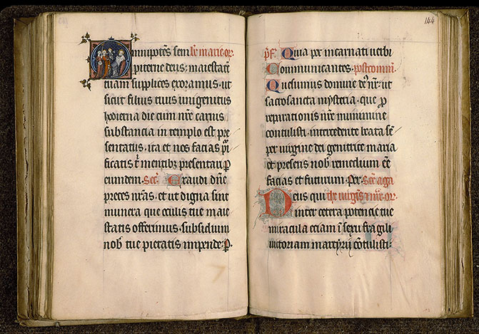 Paris, Bibl. Sainte-Geneviève, ms. 0103, f. 143v-144