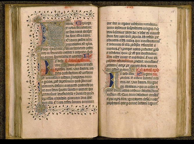 Paris, Bibl. Sainte-Geneviève, ms. 0105, f. 064v-065