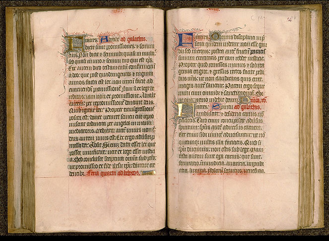 Paris, Bibl. Sainte-Geneviève, ms. 0105, f. 093v-094