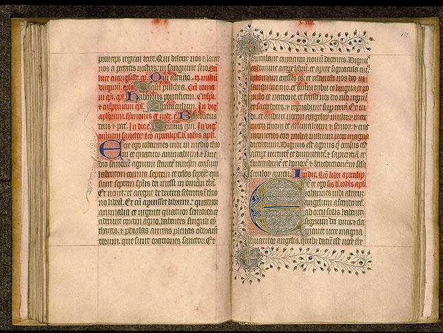 Paris, Bibl. Sainte-Geneviève, ms. 0105, f. 131v-132
