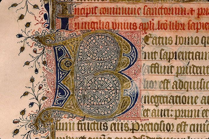 Paris, Bibl. Sainte-Geneviève, ms. 0105, f. 134v