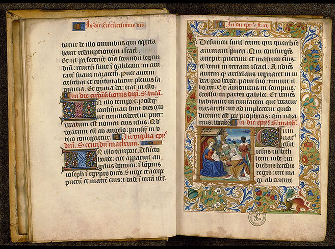 Paris, Bibl. Sainte-Geneviève, ms. 0106, f. 011v-012