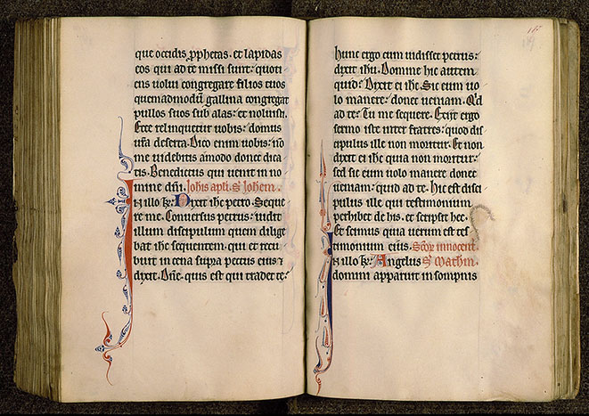 Paris, Bibl. Sainte-Geneviève, ms. 0108, f. 186v-187