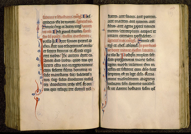 Paris, Bibl. Sainte-Geneviève, ms. 0108, f. 188v-189