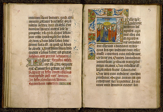 Paris, Bibl. Sainte-Geneviève, ms. 0110, f. 024v-025