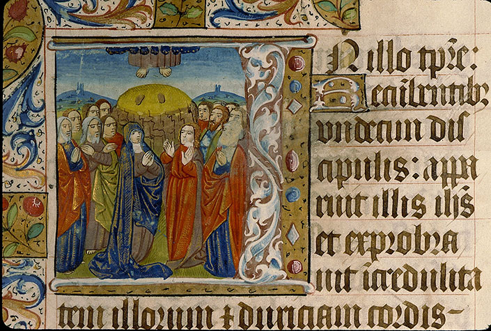 Paris, Bibl. Sainte-Geneviève, ms. 0110, f. 025