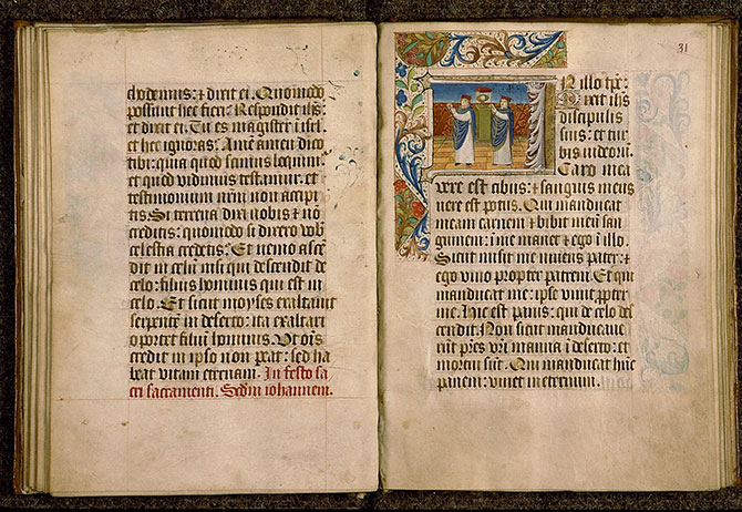 Paris, Bibl. Sainte-Geneviève, ms. 0110, f. 030v-031