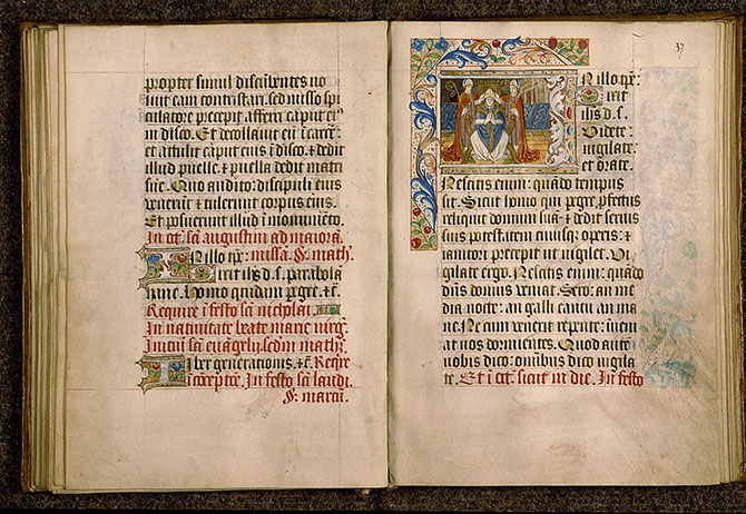 Paris, Bibl. Sainte-Geneviève, ms. 0110, f. 036v-037